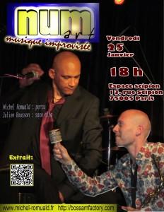 affiche numart scipion janvier 2012